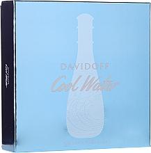 Fragrances, Perfumes, Cosmetics Davidoff Cool Water Woman - Set (edt/100ml + b/lot/75ml + sh/gel/75ml)