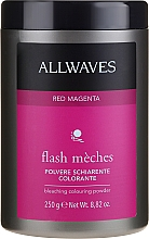 Fragrances, Perfumes, Cosmetics Bleaching Coloring Powder - Allwaves Flash Maches Bleaching Colouring Powder