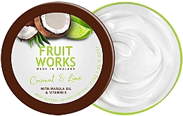 "Fragrances, Perfumes, Cosmetics Body Butter ""Coconut & Lime"" - Grace Cole Fruit Works Body Butter Coconut & Lime"