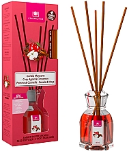 "Fragrances, Perfumes, Cosmetics Reed Diffuser ""Cinnamon & Apple"" - Cristalinas Reed Diffuser"
