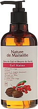 Fragrances, Perfumes, Cosmetics Hand Wash Gel with Goji Berries and Shea Butter Scent - Nature de Marseille Goji&Shea Butter Gel