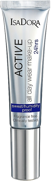 Foundation - IsaDora Active All Day Wear Make-Up 24hrs Foundation