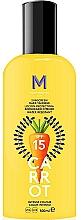 Fragrances, Perfumes, Cosmetics Dark Tanning Sunscreen Cream - Mediterraneo Sun Carrot Sunscreen Dark Tanning SPF15