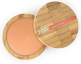 Fragrances, Perfumes, Cosmetics Matte Bronzing Powder - Zao Natural Glow Terracotta Matt Mineral Cooked Powder