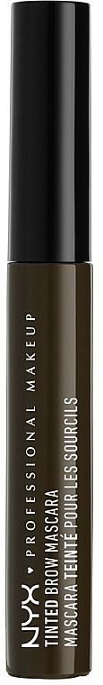 Tinted Brow Gel - NYX Professional Makeup Tinted Eyebrow Mascara Gel