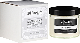 """Fragrances, Perfumes, Cosmetics Scented Candle """"Against Mosquitoes"""" - Eco Life Candles"""