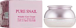 Fragrances, Perfumes, Cosmetics Anti-Aging Repairing Face Cream - Bergamo Pure Snail Wrinkle Care Cream