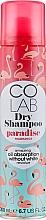 Fragrances, Perfumes, Cosmetics Dry Shampoo with Coconut Scent - Colab Paradise Dry Shampoo
