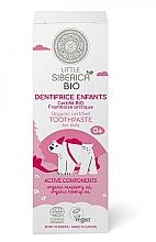 "Fragrances, Perfumes, Cosmetics Kids Toothpaste ""Arctic Raspberry"" - Natura Siberica Little Siberica"