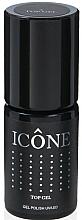 Fragrances, Perfumes, Cosmetics Nail Top Coat - Icone Gel Polish UV/LED Top Gel