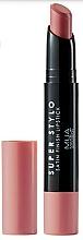 Fragrances, Perfumes, Cosmetics Satin Lipstick - MUA Academy Super Stylo Satin Finish Lipstick