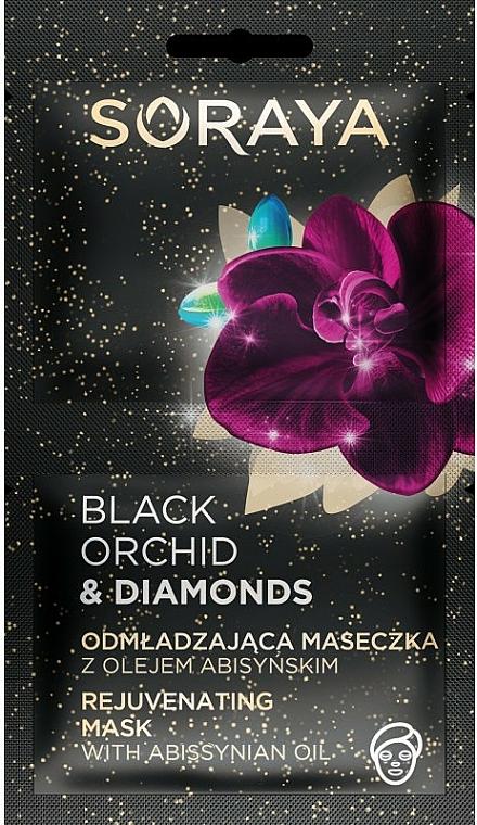 Face Mask - Soraya Black Orchid & Diamonds Rejuvenating Mask