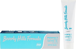 Fragrances, Perfumes, Cosmetics Toothpaste - Beverly Hills Formula Perfect White Optic Blue