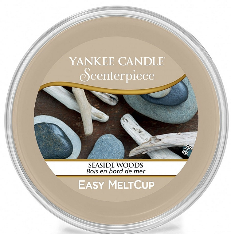 Scented Wax - Yankee Candle Seaside Woods Scenterpiece Melt Cup