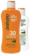 Fragrances, Perfumes, Cosmetics Set - Babaria Sun (protect/milk/200ml + protectlot/100ml)