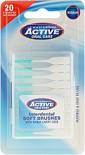 Fragrances, Perfumes, Cosmetics Interdental Brush - Beauty Formulas Active Oral Care Interdental Soft Brushes