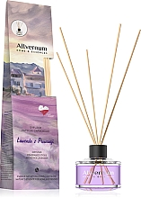 """Fragrances, Perfumes, Cosmetics Reed Diffuser """"Lavender from Provence"""" with sticks - Allverne Home&Essences Diffuser"""