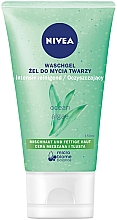 Fragrances, Perfumes, Cosmetics Matte Facial Washing Gel for Oily Skin - Nivea Aqua Effect