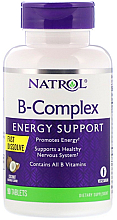 Fragrances, Perfumes, Cosmetics Vitamin B Complex with Coconut Flavor - Natrol B-Complex Coconut Energy Support