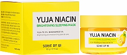 Fragrances, Perfumes, Cosmetics Night Tone Evening Face Mask - Some By Mi Yuja Niacin Brightening Sleeping