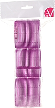 Fragrances, Perfumes, Cosmetics Velcro Curlers, 499592, Violet - Inter-Vion