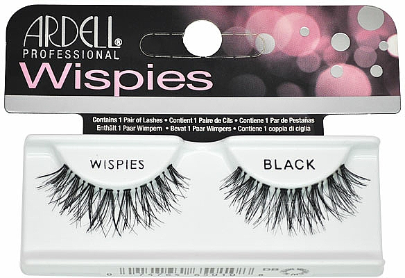 False Lashes - Ardell Professional Natural Lashes Wispies Black