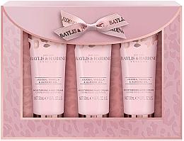 Fragrances, Perfumes, Cosmetics Set - Baylis & Harding Jojoba, Vanilla & Almond Oil Hand Cream Set (h/cr/50mlx3)