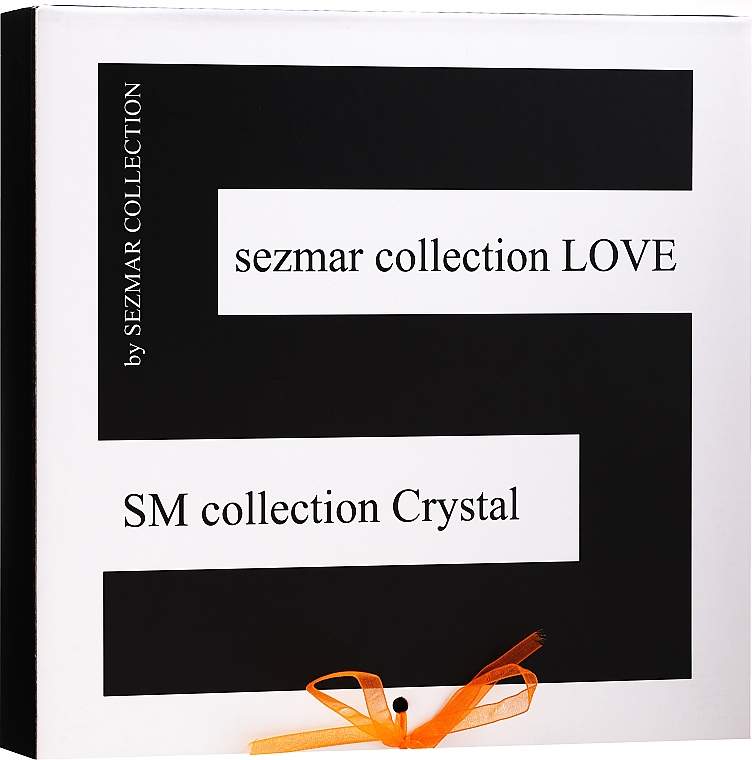 Set - Sezmar Collection Love Crystal Sapphire (f/cr/2x50ml + f/mask/100ml + eye/cr/30ml + f/serum/30ml) — photo N1