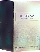 Fragrances, Perfumes, Cosmetics Vittorio Bellucci Golden Man - Eau de Toilette