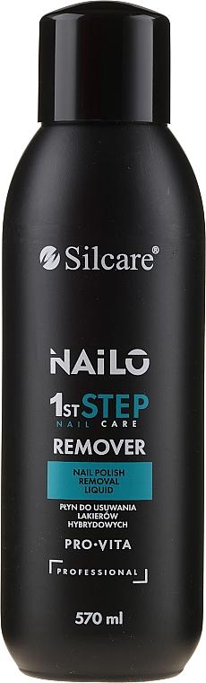 Acetone-Free Nail Remover - Silcare Nailo Pro-Vita