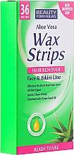Fragrances, Perfumes, Cosmetics Mini Depilatory Strips - Beauty Formulas Wax Strips Face & Bikini Line