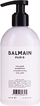 Fragrances, Perfumes, Cosmetics Volume Hair Shampoo - Balmain Paris Hair Couture Volume Shampoo