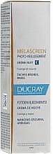 Fragrances, Perfumes, Cosmetics Night Face Cream - Ducray Melascreen Night Cream