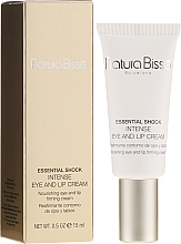 Fragrances, Perfumes, Cosmetics Intensive Eye & Lip Care Cream for Dry Skin - Natura Bisse Essential Shock Intense Eye and Lip Treatment SPF15
