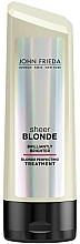 Fragrances, Perfumes, Cosmetics Hair Conditioner - John Frieda Sheer Blonde Brilliantly Brighter Treatment