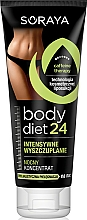 Fragrances, Perfumes, Cosmetics Body Concentrate - Soraya Body Diet 24 Night Concentrate Intensive Slimming