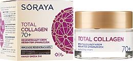 Fragrances, Perfumes, Cosmetics Anti-Wrinkle Day and Night Regeneration Cream 70+ - Soraya Total Collagen 70+