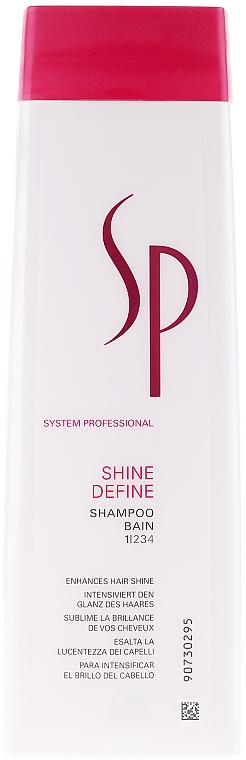 Shine Hair Shampoo - Wella SP Shine Define Shampoo — photo N1
