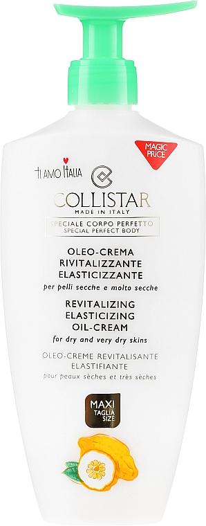Body Oil-Cream for Dry Skin - Collistar Revitalizing Elasticizing Oil-Cream