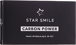 Fragrances, Perfumes, Cosmetics Whitening Tooth Strips - Star Smile Carbon Power Whitening Strips