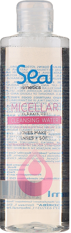 Micellar Water for Sensitive Skin - Seal Cosmetics Micellar Cleansing Water