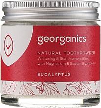 Fragrances, Perfumes, Cosmetics Natural Toothpowder - Georganics Eucalyptus Natural Toothpowder