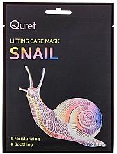 Fragrances, Perfumes, Cosmetics Lifting Mask - Quret Lifting Care Mask Snail