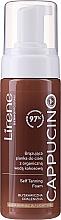 Fragrances, Perfumes, Cosmetics Self-Tanning Body Foam - Lirene Cappucino Self Tanning Foam