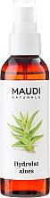 "Fragrances, Perfumes, Cosmetics Hydrolat ""Aloe"" - Maudi"