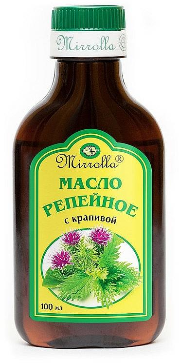 Burdock Oil with Nettle Extract - Mirrolla