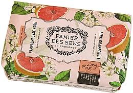 Fragrances, Perfumes, Cosmetics Estra Soft Pink Grapefruit Shea Butter Soap - Panier des Sens Shea Butter Soap Bar Pink Grapefruit